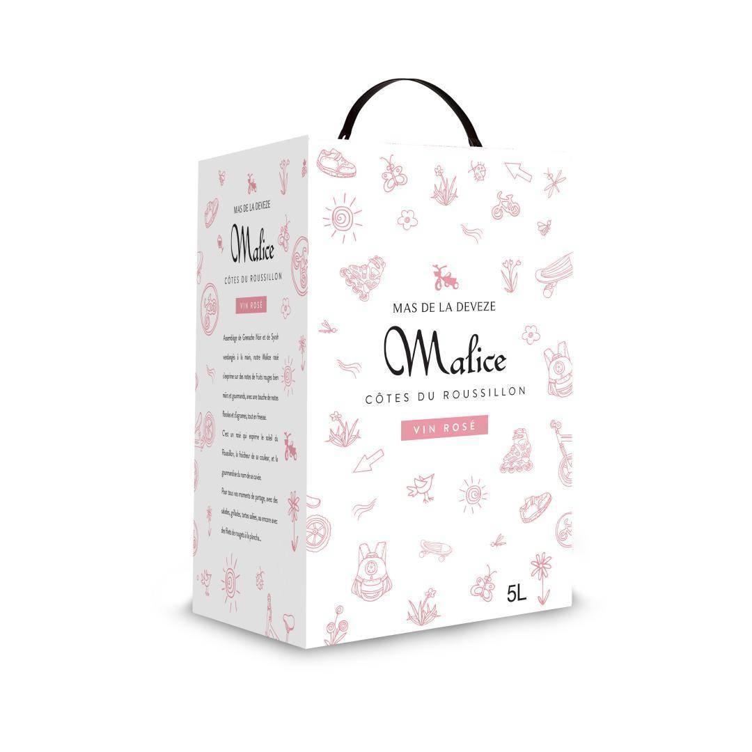 BAG IN BOX 5L MALICE ROSÉ 2020