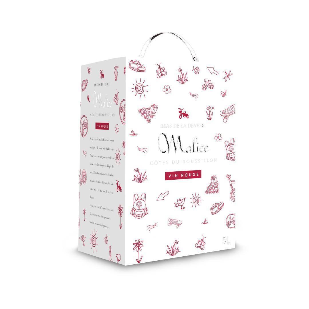 BAG IN BOX 5L MALICE ROUGE